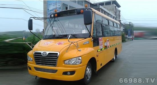 解放牌CA6750PFD81N型幼儿专用校车