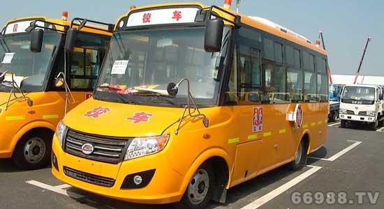 楚风牌HQG6661XC型幼儿专用校车