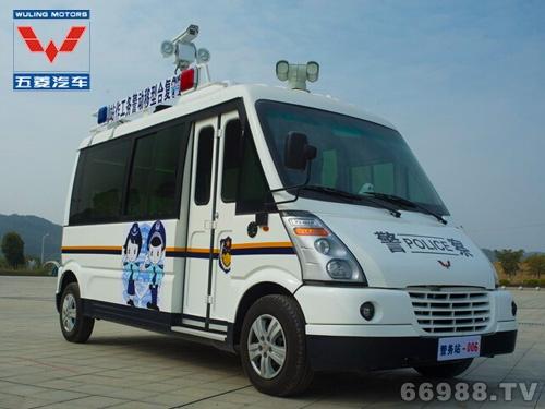 五菱LQG5031XZH复合型快速移动警务工作站