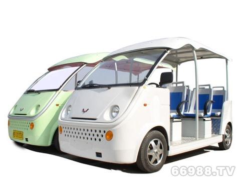 五菱V1电动观光车