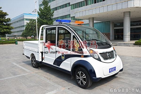 森源鸿马H18型双排电动货车