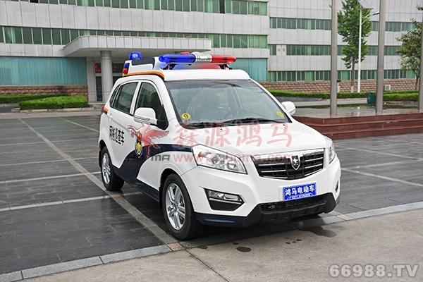 森源鸿马XS5型5座电动SUV巡逻车