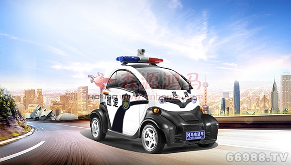 森源鸿马城市精灵新一代智能巡逻车