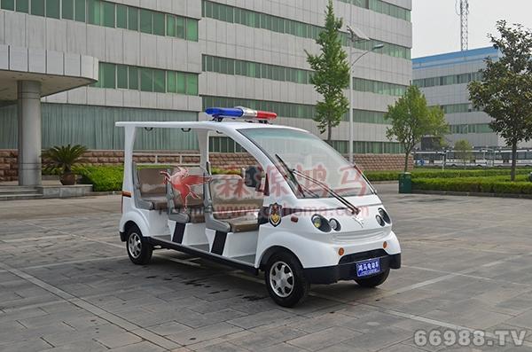 森源鸿马六座玻璃钢巡逻车