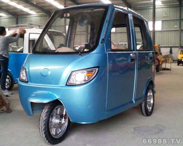 福星款全棚电动三轮车