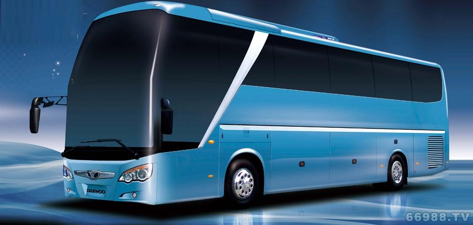 大宇GL6129HC 大容量层半客车