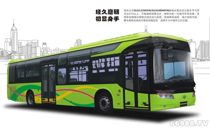 大宇GL6122HEVN1公交车