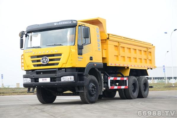 新金刚6×4自卸车