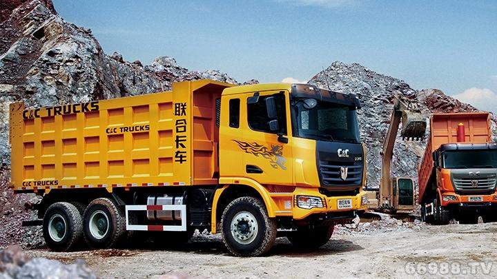 U平台6×4渣土运输自卸车(柴油版)