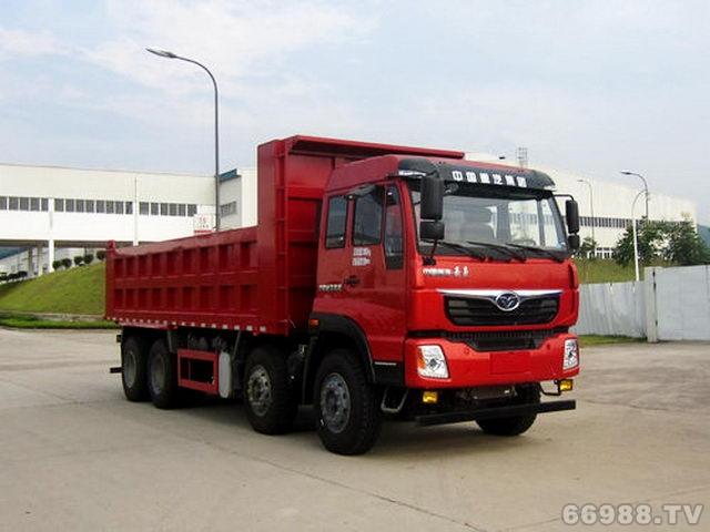 豪曼8×4系列工程自卸车