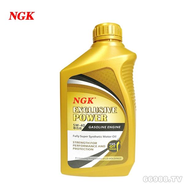 NGK尊合成金瓶5W-40汽车润滑油SN级全合成机油全国招商批发业务